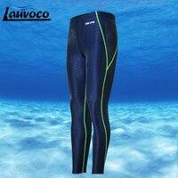 Профессиональный плавательные шорты плюс Размеры 3XL длинные штаны Для мужчин быстросохнущая SharkSkin SwimTrunk помех Купальники гидрокостюм для д...