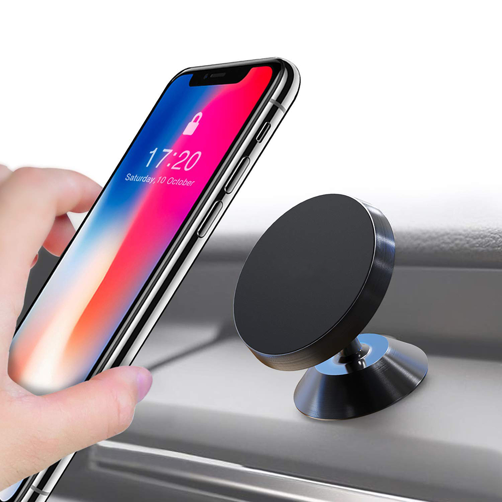 Universal 360 Degree Magnetic Car Phone Holder GPS Support Smartphone Voiture Stand Magnet Mount For iPhone 5s 6 7 8 Plus Xiaomi smartphone