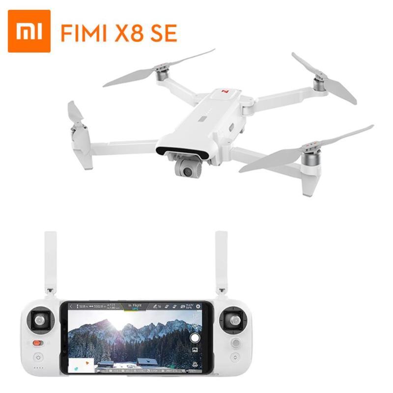 Drone caméra Xiaomi FIMI X8 SE 5KM FPV avec cardan 3 axes GPS 4K caméra Drone RC quadrirotor