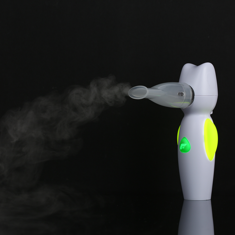 Image 4 - Handheld Nebulizer for Kid Child Home Air Angel Nebulizer Portable Mesh Steam Inhaler Atomizer Medical Household Vaporizer-in Steaming Devices from Beauty & Health