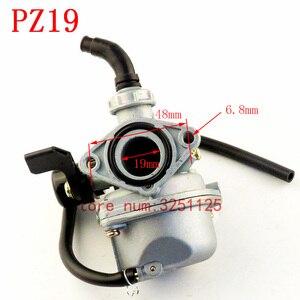 Image 3 - موتور مخزن PZ19 19 مللي متر دراجة نارية المكربن 50cc 70cc 90cc 110cc 125cc ATV الترابية دراجة الذهاب كارت خنق Taotao carburettor