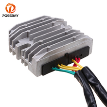 POSSBAY Motorcycle Parts Metal Voltage Regulator Rectifier Fit for Suzuki GSXR 600 750 2006-2011 1000 2007-2009