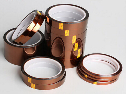 35mm x 33m High Temperature Resistant Tape Heat Dedicated Tape Polyimide Tape high temperature heat resistant polyimide tape tawny 260 300 degrees celsius durable for electronics industry 58mm x 30m