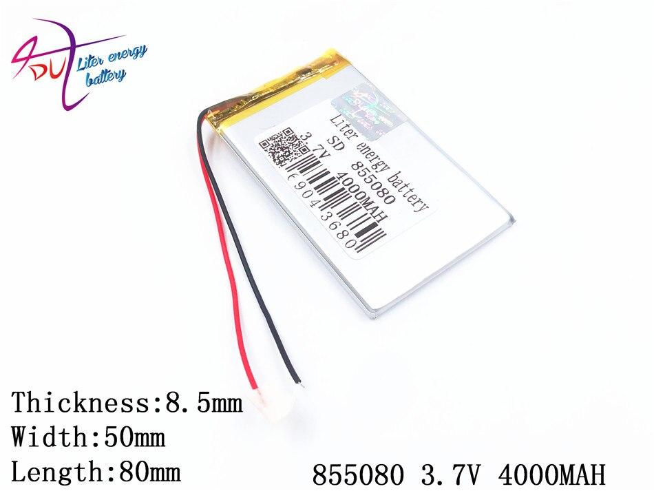 Cube Handy Strukturelle Behinderungen Pipo 3.7v4000mah 855080 Polymer Lithium-ion/li-ion Batterie Für Tablet Pc Power Bank