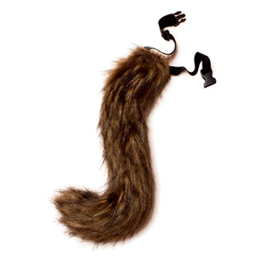 JUNBOON Faux Fur Tail for Adult/Teen Cosplay Fox Tail Halloween Party Costume(China)