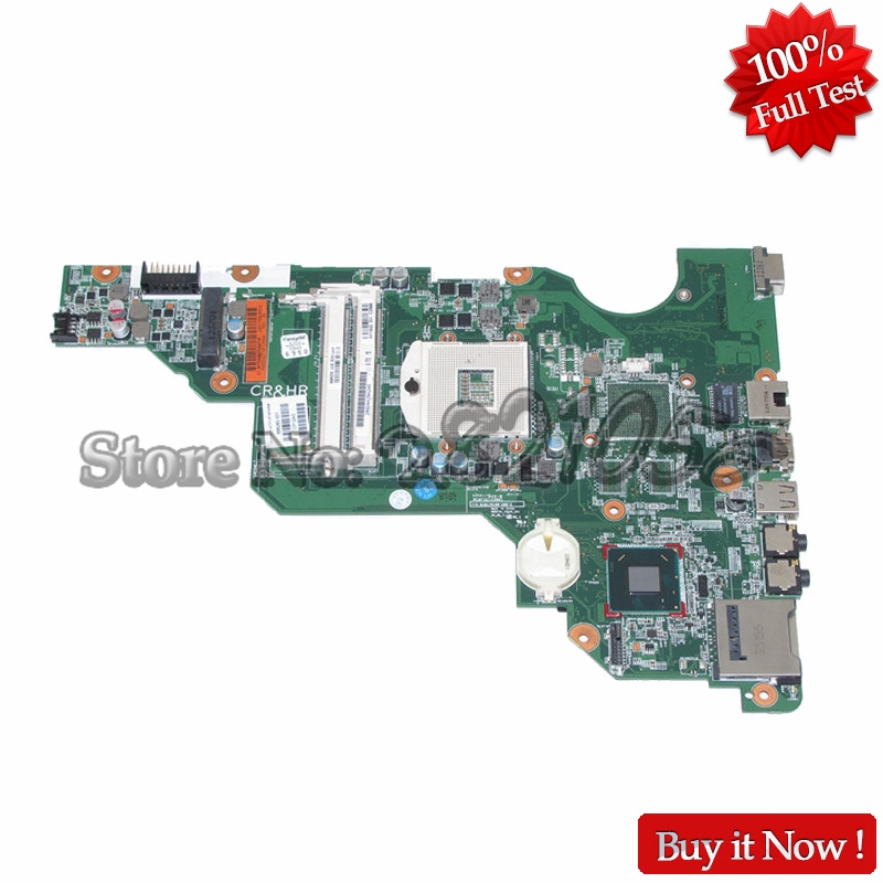 NOKOTION 686280-501 686280-001 Laptop Motherboard for Hp compaq CQ58 CQ58-2000 SLJ8F Main Board HD Chipset HM75 DDR3 nokotion 744189 001 745396 001 main board for hp 215 g1 laptop motherboard ddr3 with cpu zkt11 la a521p warranty 60 days