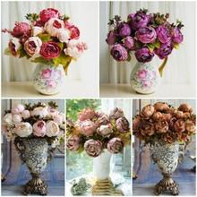 Пользовательские Товары 6 Пластик цветок VIP Новогодние товары украшения цветы украшают партии