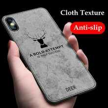 Luxury Cloth Coque Case For iphone 6 s 6s 7 plus iphone XS Max 8plus Phone Case Cover For iphone XR X 10 iphone 8 Plus Case 7 8 cheap iPhone 6 Plus IPHONE 6S iPhone 7 iPhone 7 Plus iPhone 6s plus vintage Matte Business Patterned Animal Sports Fitted Case