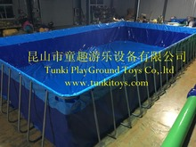 Portable Water Park Summer Adult Summer Playing Frame Swimming Pool
