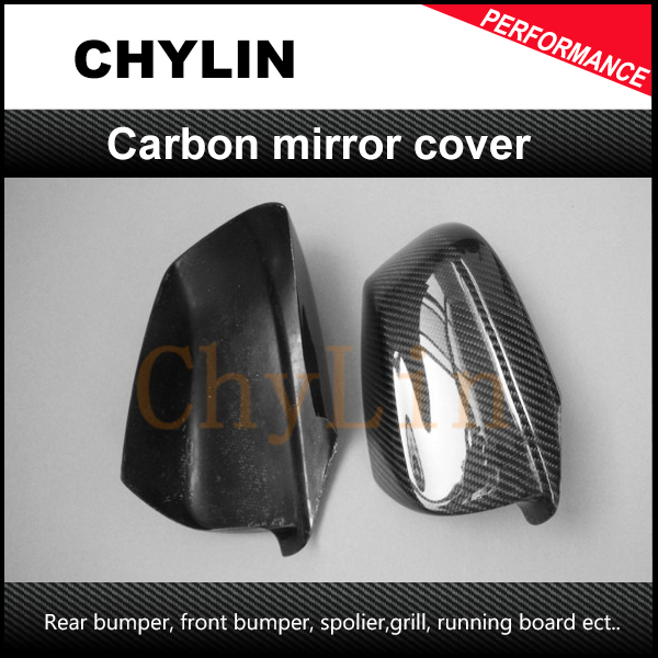Top quality Auto Car Mirror Cover Mirror Case Carbon Fiber Mirror Cover For BMW F10 f10 side wing rearview mirror cover caps for bmw sedan 11 13 carbon fiber