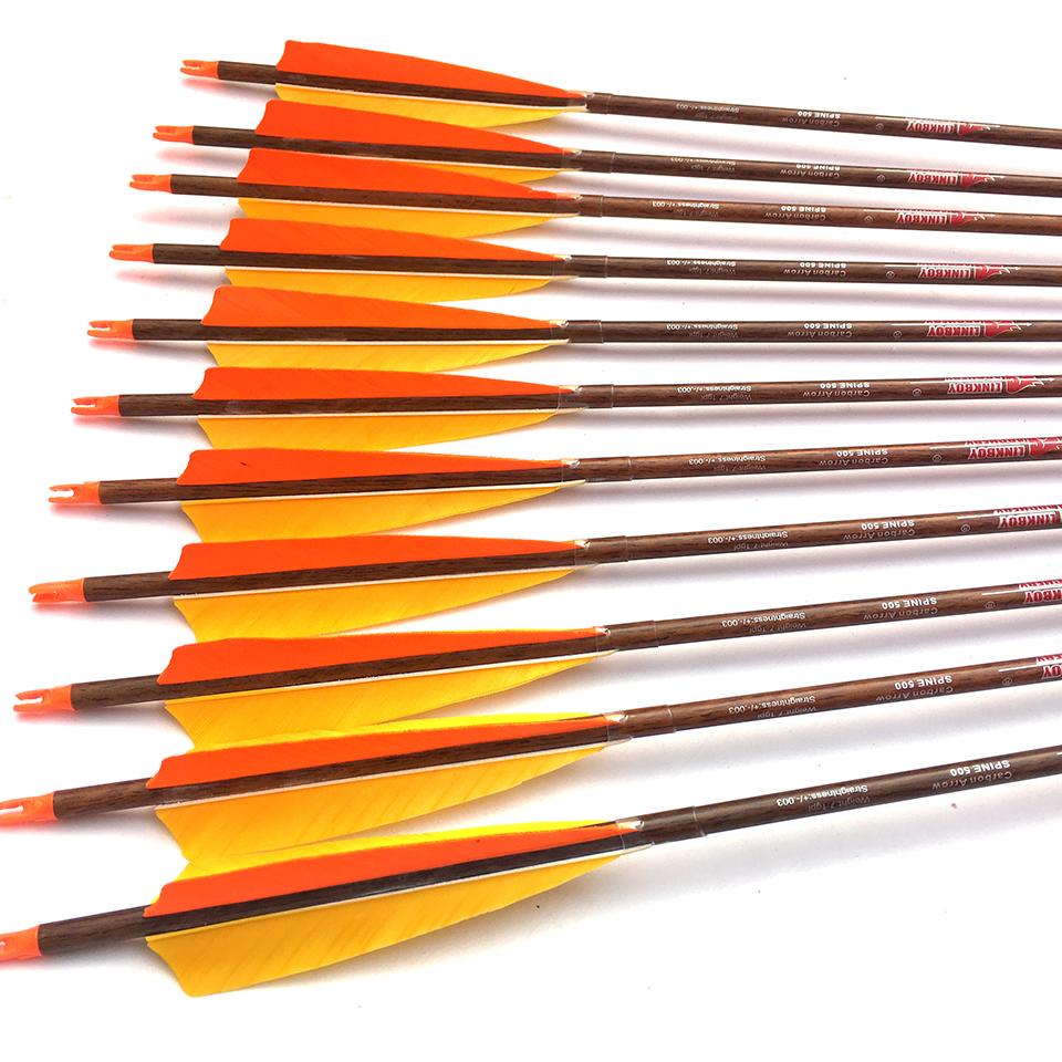 100 x Arrows Nocks for ID 6.2mm Shaft Archery Carbon Arrow Outdoor Hunting
