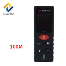Norm Laser Distance Meter 40M 60M 80M 100M Laser Rangefinder Laser Range Finder Distance meter Measure with retail package