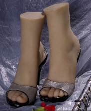 Silicone Female Fake Foot,Inner-Bone Inside,Feet Model,Shoe Model
