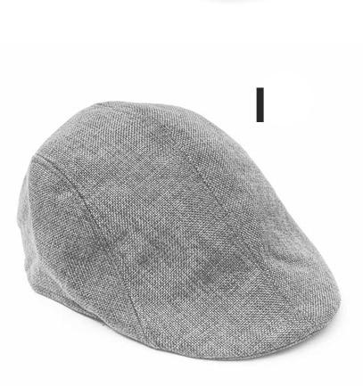 Английский стиль, однотонные весенне-зимние шапки для мужчин и женщин, модные уличные унисекс пляжные солнцезащитные шапки, новые повседневные мужские береты - Цвет: I