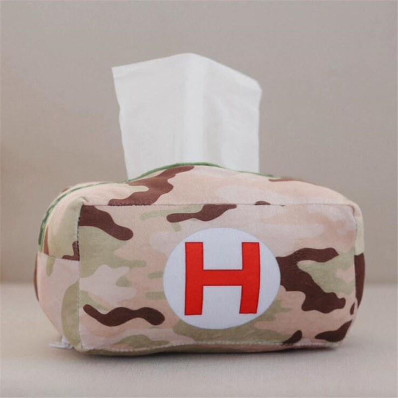 Game PUBG Playerunknown's Battlegrounds Cosplay Props Medicine Bag Plush Toys Paper Towel