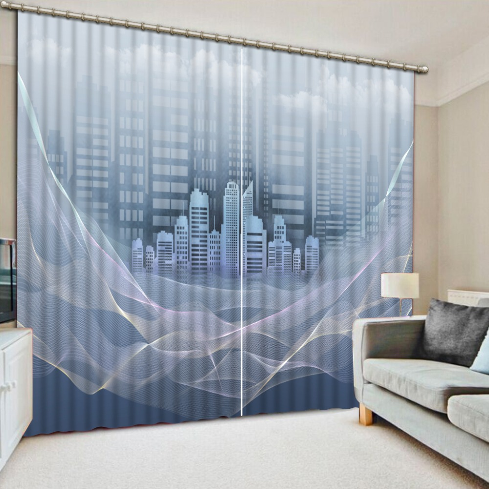 Window Curtain Custom Living room Bedroom 3D Curtains Abstract architectur Stereoscopic kid Curtain 3D Blackout Window       Window Curtain Custom Living room Bedroom 3D Curtains Abstract architectur Stereoscopic kid Curtain 3D Blackout Window