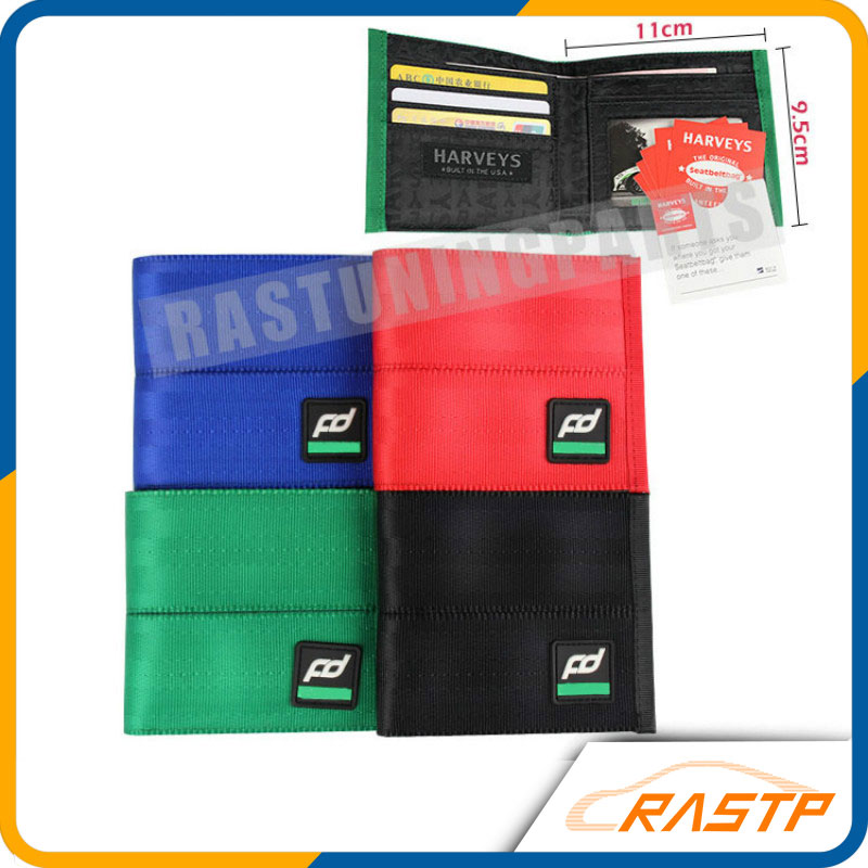 RASTP Harveys Racing Wallet JDM Bride Fabric Unique Inside Money Purse LS BAG001A