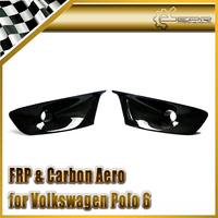 Car styling For VW VW Polo 5 6R Carbon Fiber Front Fog Light Air Duct