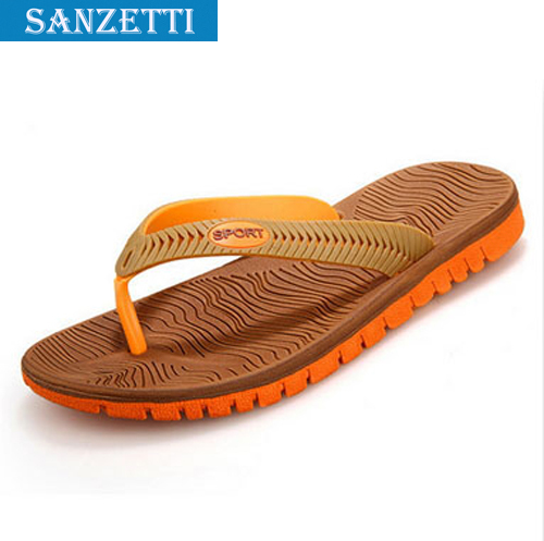 d60a5321c69 Free Shipping Style Indoor Stylish Outdoor Flip flops Men Sandals Slippers