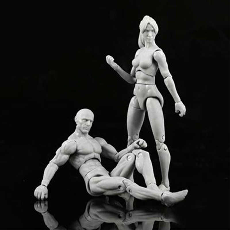 Nieuwe Anime Archetype Hij Ze Ferriet Figma Movable Body Feminino Kun Body Chan PVC Action Figure Model Speelgoed Pop voor collectible