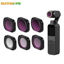 купить Sunnylife For DJI OSMO Pocket Accessories MCUV CPL ND4 ND8 ND16 ND32 ND64 Camera Lens Filter For DJI OSMO Pocket Handheld Gimbal по цене 676.48 рублей