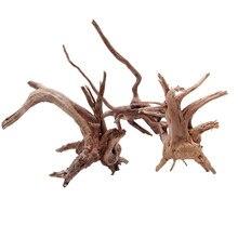 Madeira natural tronco driftwood árvore aquário tanque de peixes planta decoração ornamento