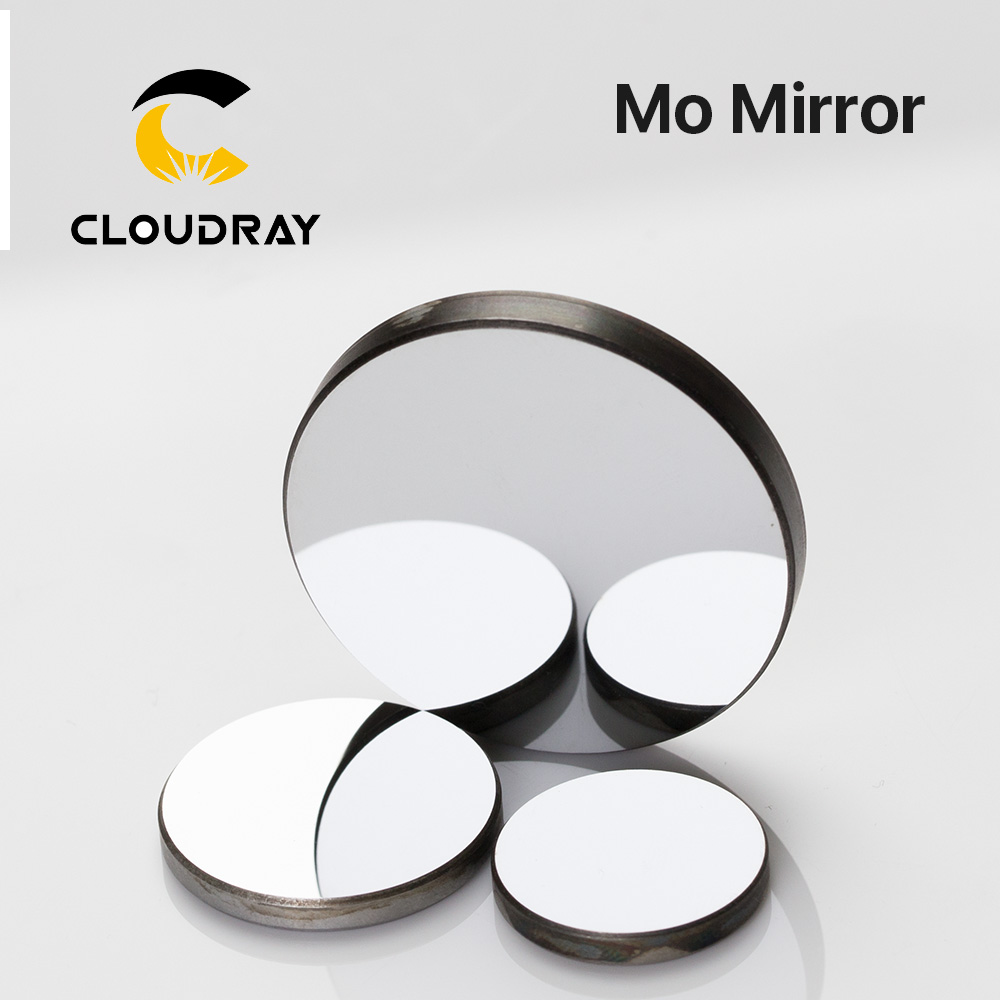 Laser Reflector Mo Mirror Dia. 15 19.05 20 25 30 38.1mm Thickness 3mm 1Pcs Custom-made For CO2 Laser Machine Free Shipping