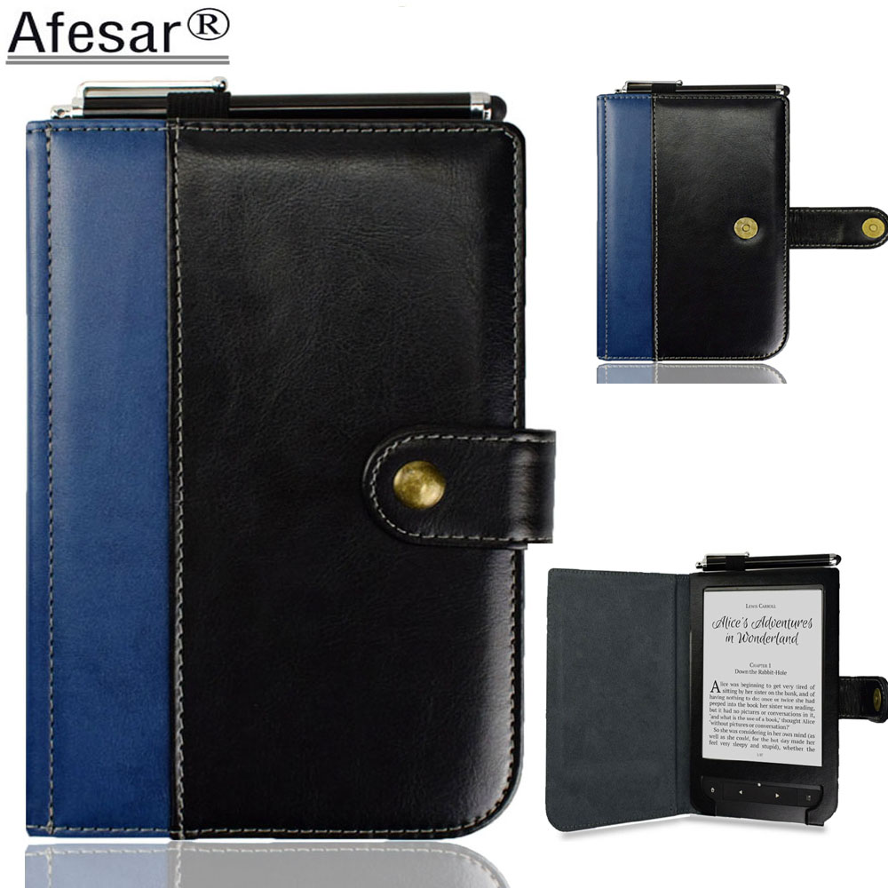 AFesar New product pu leather cover for Pocketbook 624 625 626 ereader ebook case with flip fold for reading|Tablets & e-Books Case| |  - title=