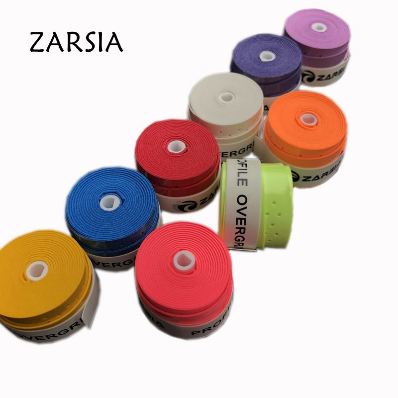 10 pcs ZARSIA Tennis racket sticky feel Overgrip Tennis Grips badminton Racquets Wraps Hand Glue Overgrips Non-slip