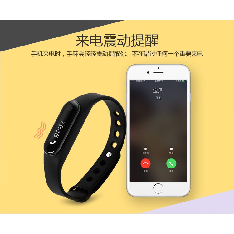 C6 Sports Bracelet Intelligent Heart Rate Sleep Health Monitoring Bluetooth Waterproof Meter Step Caller Smart Band