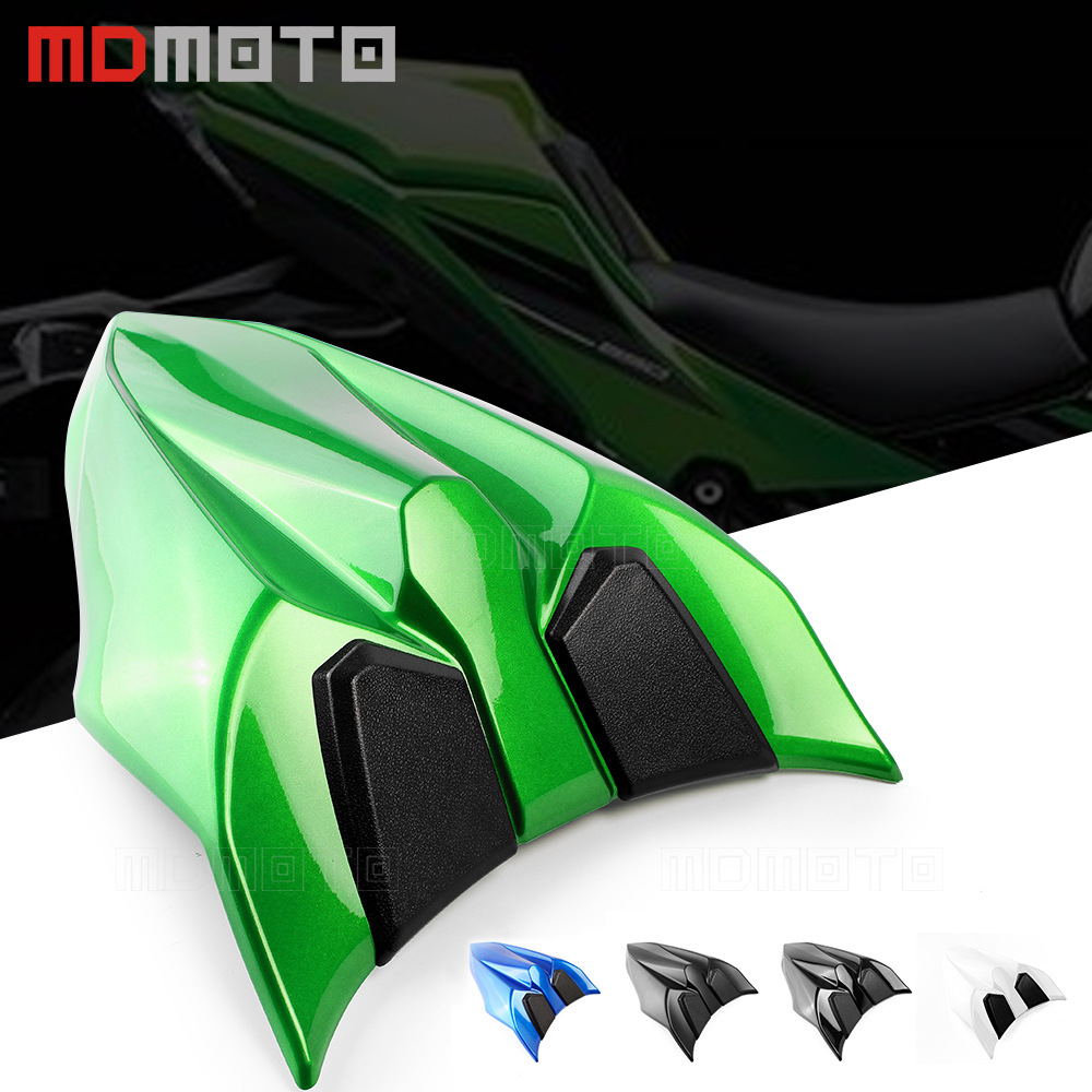Green Motorcycle Rear Tail Section Seat Cowl Cover For Kawasaki Z650 NINJA 650 2017 Motorbike accessories Rear Seat Cover Cowl for ktm 390 duke motorcycle leather pillon passenger rear seat black color