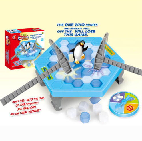 1 PC Jogo Salvar Pinguim Pinguim Armadilha Ice breaker no Gelo bloco Brinquedos Educativos Primeiros Presentes de Aniversário Do Partido Engraçado Do Jogo Do Jogo Da Família
