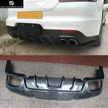 970 Carbon Fiber Rear bumper diffuser lip For Porsche Panamera 970 09-15