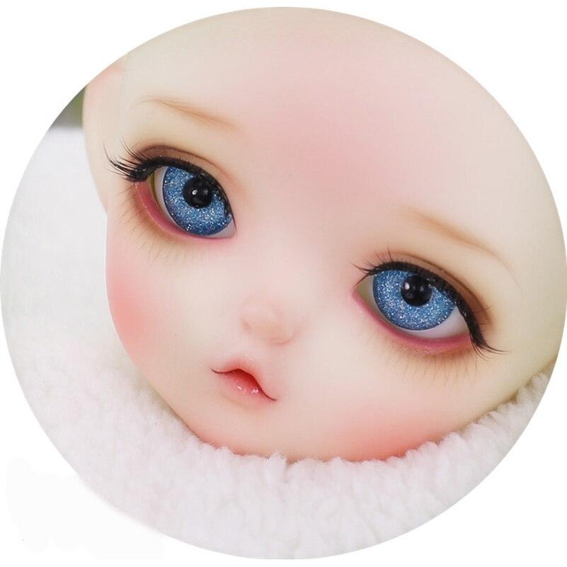10mm 12mm 14mm 16mm 18mm Acrylic BJD Doll Eyes 1/3 1/4 1/6 Metallic Black Pupil Eyeball  ...