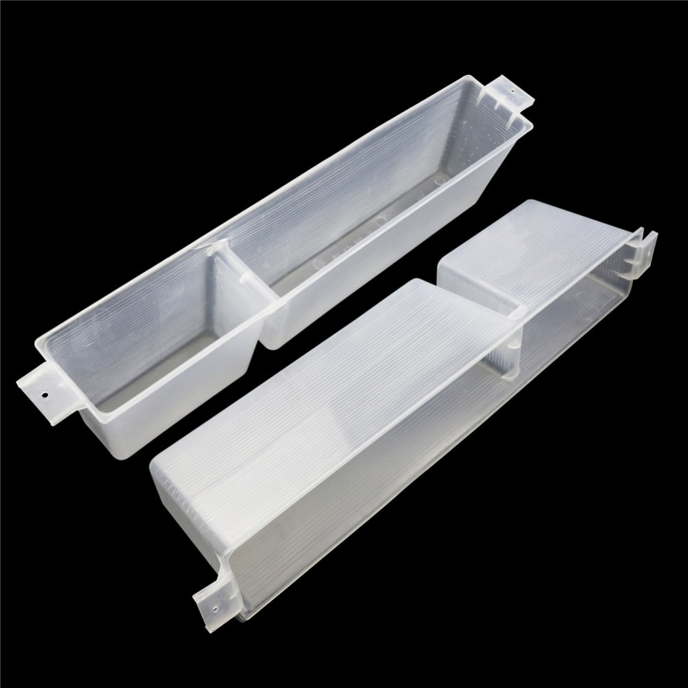 10 Pcs Plastic 3KG Honey Bee Feeder Deepen Feed Box Feeding Water Box Beekeeping Tools Hard To Break Thicker White Transparent