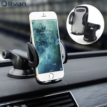 Ollivan Universal car holder stand Windshield Dashboard Magnetic Mount car phone holder for iphone 6 xiaomi oneplus 5 GPS holder