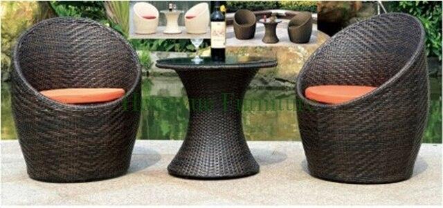 Bistro exterior conjunto de sofás muebles, jardín muebles sofá en ...