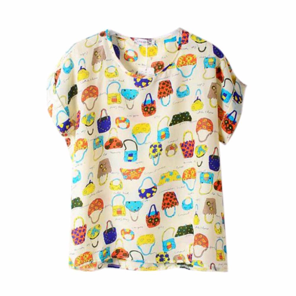HTB1GhTHKpXXXXXuXFXXq6xXFXXXa - 2017 Summer Funny Birds Printing Womens Loose T-Shirt