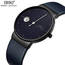 IBSO ультратонкие кварцевые часы, мужские модные часы с одной стрелкой, Креативные мужские часы 2020 relojes para hombre Relogio Masculino
