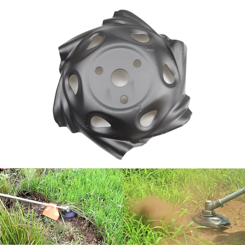 Metal Grass Mowing Lawnmower Weeding Tray Trimmer Head Machine Accessories Garden Power Tool Lawn Mower Parts Black|Weeders| |  - title=