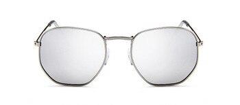 2021 Vintage Metal Women Sunglasses Luxury Brand Design Glasses Female Classic Driving Eyewear uv400 Oculos De Sol Masculino - C15