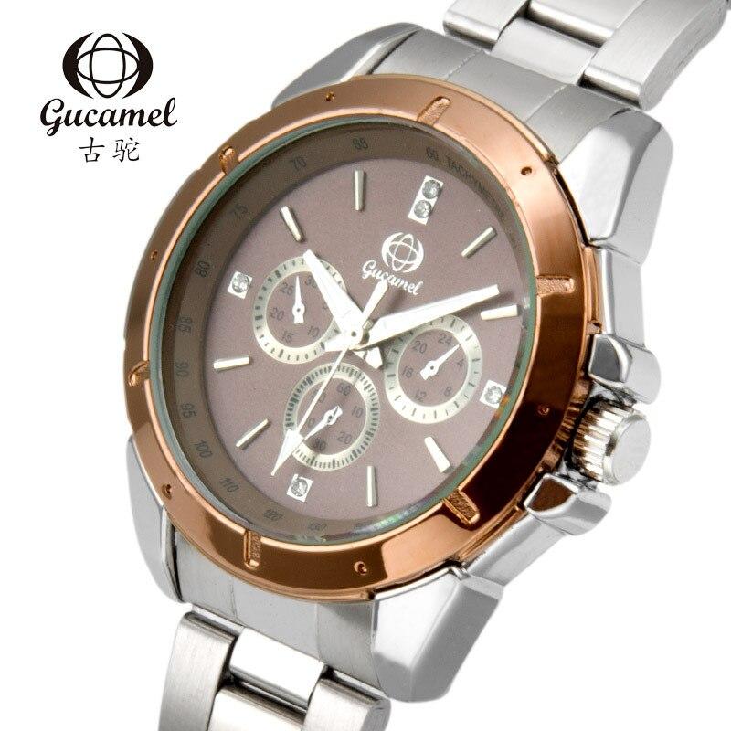 GUCAMEL Fashion Lover Watch Luxury Brand Couple Quartz Wrist