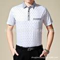 Polo Shirt Man 2017 Summer Brand Men Short Sleeve Business Shirts Men Aged Gentleman Men Camisa Polo Wholesale