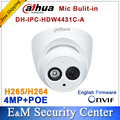 Dahua IPC-HDW4431C-A reemplazar IPC-HDW4421C-A $ NUMBER MP Cámara de Red IP IR POE CCTV Mic Incorporado H265 H264 bóveda DH-IPC-HDW4431C-A