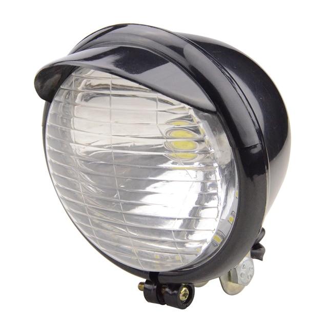 GOOFIT Chrome Motorcycle Headlight Rear Brake Indicator Tail Light Integrated Signals Backup Light Lamp Bulb Scooter J065-873