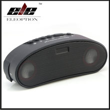 ELE ELEOPTION Column Bluetooth Speaker FM Radio Portable Waterproof Outdoor Mini Wireless Bicycle Speaker+LED Light+Mounting(China)