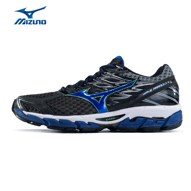 Mizuno Men's PARADOX 4 Running Shoes Wave Cushion Stability Sneakers Light Breathable Sports Shoes J1GC174002 XYP570 mizuno wave paradox 2 mizuno mznj1gc1540