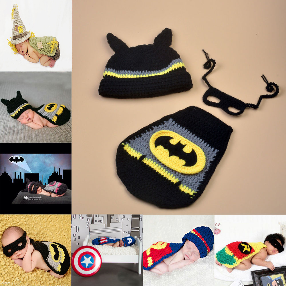 6d12e8fe7f741 Handmade-Knitted-Newborn-Super-Hero-Photography-Props-Batman-  HTB1DexnaGAoBKNjSZSyq6yHAVXaM ...