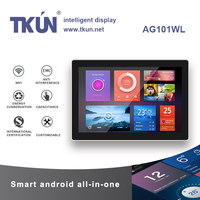 AG101WL 10,1 inchesMultipoint емкостный сенсорный ПК, 10,1 дюймовый android touch все в одном