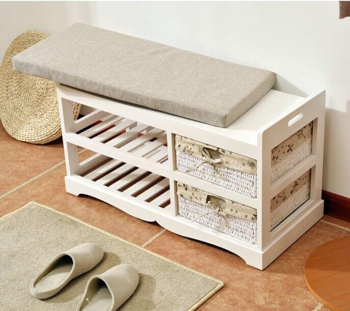 wooden shoe rack storage organizer u0026 hallway bench living room cabinets for shoe home entryway shelf stand storage ottoman